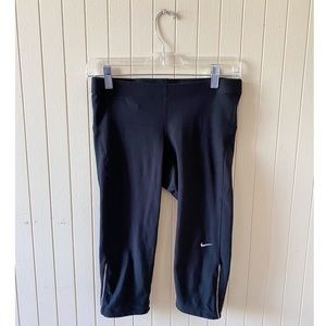 Nike Dri - Fit Black Above Calf Leggings